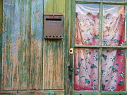 Mail Box Posters - Old Rusted Mail Box Poster by Thierry Borcy