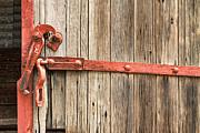 James BO  Insogna - Old Rustic Railroad Train Door