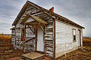 Photography Prints Prints - Old Rustic Rural Country Farm House Print by James Bo Insogna