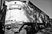 Full Length Mixed Media Prints - Old Rusty Train 3 Print by Todd and candice Dailey