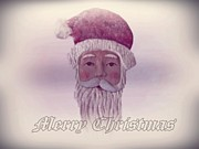 Christmas Eve Digital Art - Old Saint Nicholas Greeting Card by David Dehner