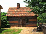 Charming Cottage Photo Prints - Old Salem Cottage Print by Frank Romeo