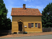 Charming Cottage Photo Prints - Old Salem Store Print by Frank Romeo
