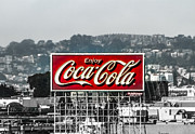 Coca-cola Sign Art - Old San Francisco Coke Sign by Mitch Shindelbower