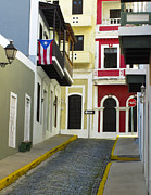 Puerto Rico Photo Posters - Old San Juan Poster by Carter Jones