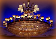 Chandelier Prints - Old San Juan Print by Karen Wiles
