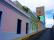 Cynthie Cotto - Old San Juan Street