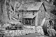 Cabin Wall Framed Prints - Old Sawmill in the South Framed Print by Dan Cornock