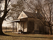 School Houses Photos - Old School House by Brenda Conrad