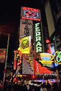 Joann Vitali Prints - Old School Neon New York Print by Joann Vitali