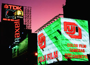 Joann Vitali Prints - Old School Times Square 2 Print by Joann Vitali