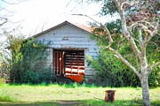 Old Country Roads Photos - Old Shed 14 by Andy Savelle