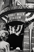 Phillies Framed Prints - Old Shibe Park - Connie Mack Stadium Framed Print by Bill Cannon