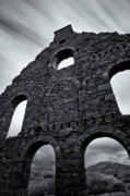 Ruins Metal Prints - Old Slate Mill Metal Print by David Bowman