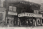 Cooperstown Posters - Old Smalleys Theatre Poster by Bob Whitt