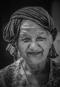 Street Photography Prints - Old Smile Print by Setsiri Silapasuwanchai