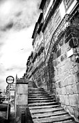 Stone Steps Photo Framed Prints - Old Stairs in Porto Framed Print by John Rizzuto