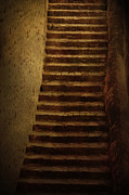 Abducted Prints - Old stairs Print by Nikolina Petolas