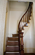 Stair Case Posters - Old Stairs Poster by Wayne Lindberg