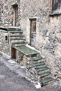 Stone Steps Prints - Old stairway Print by Gabriela Insuratelu