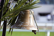 Teresa Jacobs Metal Prints - Old Starting Bell Metal Print by Teresa Jacobs