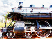 Wingsdomain Art and Photography - Old Steam Locomotive 5D29112wcstyle