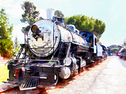 Wingsdomain Art and Photography - Old Steam Locomotive 5D29135wcstyle