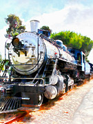 Wingsdomain Art and Photography - Old Steam Locomotive 5D29138wcstyle