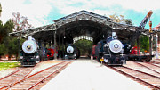 Wingsdomain Art and Photography - Old Steam Locomotive 5D29186wcstyle