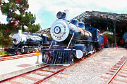 Wingsdomain Art and Photography - Old Steam Locomotive 5D29197wcstyle
