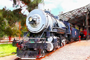Wingsdomain Art and Photography - Old Steam Locomotive 5D29200wcstyle