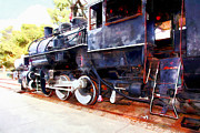 Wingsdomain Art and Photography - Old Steam Locomotive 5D29222wcstyle