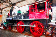 Wingsdomain Art and Photography - Old Steam Locomotive 5D29231wcstyle