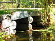 Sudbury Ma Photo Posters - Old Stone Bridge Poster by Barbara McDevitt