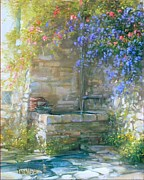 Antonietta Varallo - Old stone fountain -...