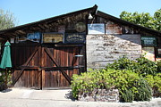 Barn Door Posters - Old Storage Shed At the Swiss Hotel Sonoma California 5D24458 Poster by Wingsdomain Art and Photography