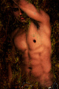 Erotic Nude Male Prints - Old Story 1 Print by Mark Ashkenazi