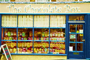 Fractals Photos - Old sweet shop Fractals by David French