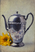 Garry Gay - Old Teapot With Sunflower