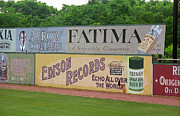 Minor League Prints - Old Time Baseball Field Print by Frank Romeo