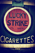 Cigarettes Prints - Old Time Cigarettes Print by Karol  Livote