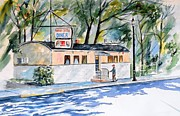 Restaurant Signs Paintings - Old-Timer by Brian Degnon