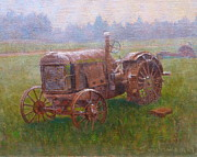 Terry Perham Art - Old Timer Canterbury by Terry Perham