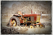 Angela Castillo Art - Old Timer by Cherie Haines