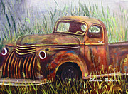 Burger Prints - Old Timer Print by Sharon Burger