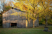Natchez Trace Parkway Metal Prints - Old Tobacco Barn Metal Print by Brian Jannsen