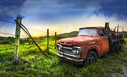 Debra and Dave Vanderlaan - Old Tow Truck