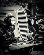 Classic Truck Photos - Old Towing Service by Perry Webster