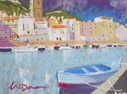 Europe Pastels - Old Town Bosa by Lyle Dayman