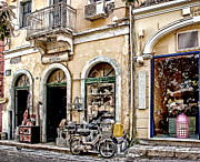 Old Buildings Digital Art - Old Town Corfu by Julie Palencia